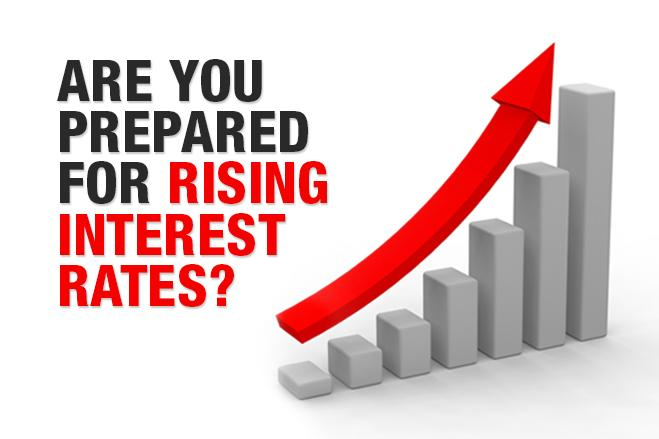 Image result for Interest rates rising 2017